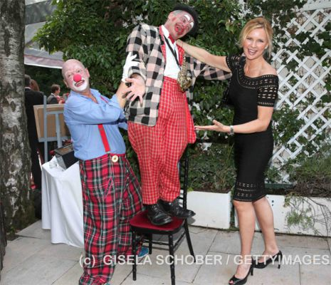Clown Rudolfo, Clown Breuer und Veronica Ferres