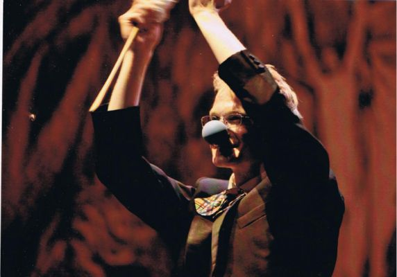 Clown Severino im Prinzregententheater