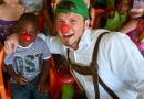 Clown Leandro in Kolumbien