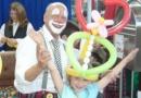 Clown Rudolfo Hagebaumarkt Ballonhut