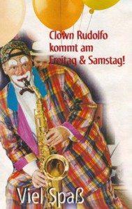 Hagebaumarkt - Clown Rudolfo