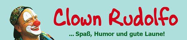 Clown Rudolfo - Spaß, Humor und gute Laune!